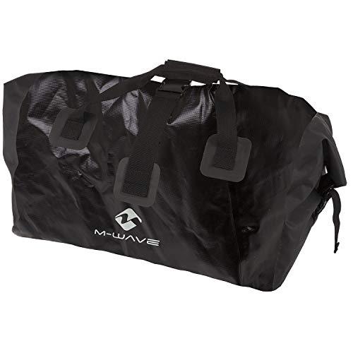M-Wave UNI BAG Universaltasche, Auch Für Einspur-gepäck-fahrradanhänger &gtsingle 40&lt Geeignet, schwarz, ca. 60,5 x 38,5 x 55,0 cm