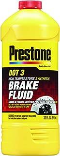 prestone brake fluid dot 3 price