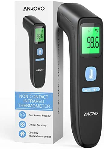 Forehead Thermometer for Adults The Non Contact Infrared Thermometer for Fever Body Thermometer product image