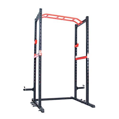 Sunny Health & Fitness Power Zone Strength Rack Power Cage - SF-XF9925, Black