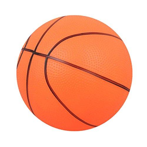 Perfeclan Basketball Kinder Spielball Sofaball Mini Trainingsball Kinderball Ø 16 cm - Orange