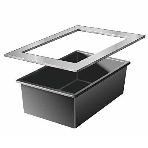 Ubbink Quadra 3 InoxFrame, Black, L