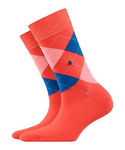 BURLINGTON Damen Socken Queen - Baumwollmischung, 1 Paar, Rot (Coral Red 8542), Größe: 36-41