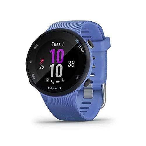 Garmin Forerunner 45s, Orologio Smart GPS per la Corsa e Altri Sport Unisex, Iris, S