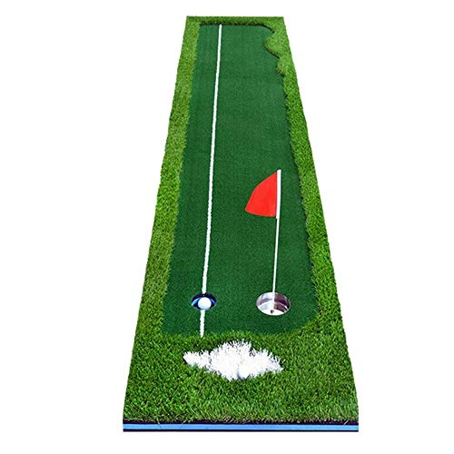 Best Buy! Golf mat Golf Putter Green Indoor and Outdoor Artificial Greens Office Fairway Practice In...