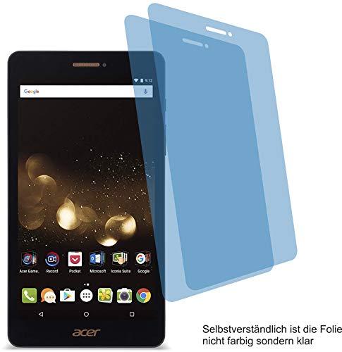 4ProTec I 2X Crystal Clear klar Schutzfolie für Acer Iconia Talk S A1-734 Bildschirmschutzfolie Displayschutzfolie Schutzhülle Bildschirmschutz Bildschirmfolie Folie