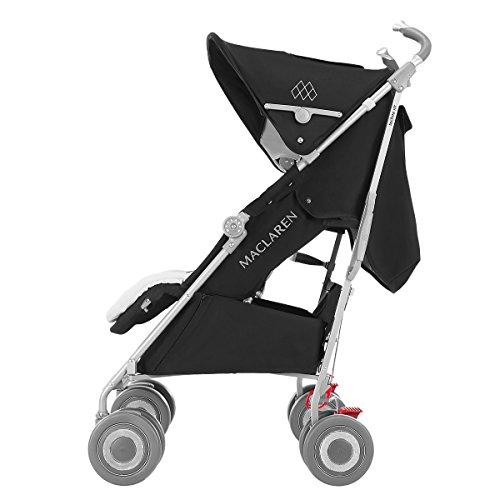 Maclaren Techno XLR Stroller, Black/Silver