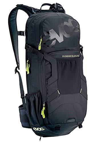 EVOC FR ENDURO BLACKLINE 16L Outdoor Protektor Rucksack Backpack für Bike-Touren & Trails (TÜV/GS Zertifiziert, LITESHIELD BACK PROTECTOR & AIR SYSTEM Technologie), Schwarz