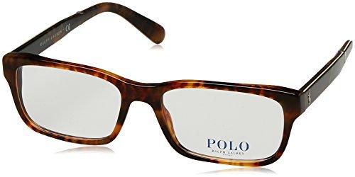 Ralph Lauren Herren 0PH2163 Brillengestell, braun (Shiny Jerry Tortoise), 54