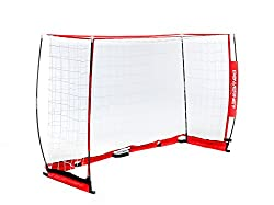 collapsible portable goal post set