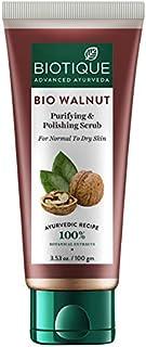 Biotique Bio Walnut Purifying and Polishing Scrub For Normal To Dry Skin, 100G