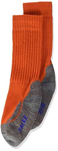 Falke Unisex Kinder Socken, Active Warm K SO -10450, orange (aurora 8781), 27-30