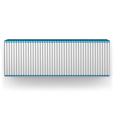 home3000 - Estantería para Blu-Ray, color blanco