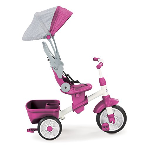 Little Tikes Perfect Fit 4-in-1 Trike, Pink, 9 months - 5 years