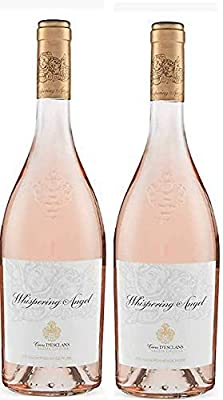 Whispering Angel Cotes De Provence Rose 2019, 75 cl Award Winning Rosé Wine - Box of 2 bottles.
