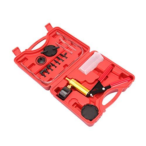 Mano de vacío Bomba de Freno de Embrague de Purga Handheld Tester Automotive Brake Fluid Conjunto Sangrado