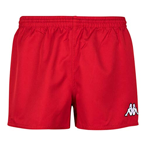 Kappa - Short Rugby Fredo - Man - XL - Rouge