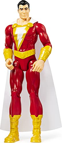 DC Comics - Shazam, Personaggio da 30 cm Articolato, dai 3 Anni - 6056780