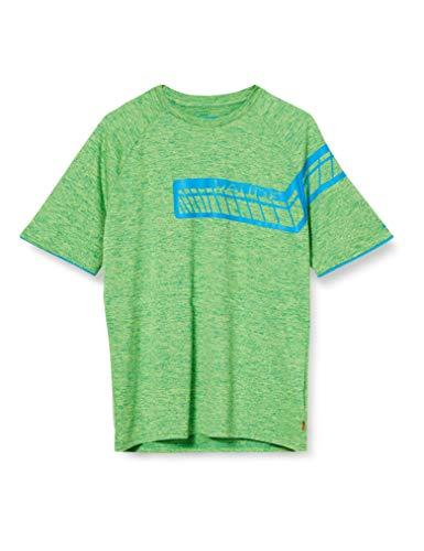 VAUDE Men's Moab T-Shirt V Tee-Shirt Homme Apple Green FR: S (Taille Fabricant: S)