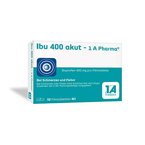 1 A Pharma GmbH, Deutschland -  Ibu 400 akut - 1 A