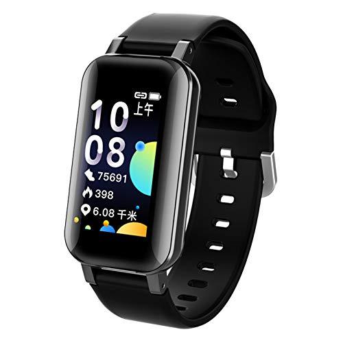 The New T89 Smart Watch Bluetooth5.0 Auriculares Recordatorio RECORDATORIO CORDÍA Monitor DE PRESIÓN sobre DE Sports SMARTWATCK Mens Y Mujeres iOS Android,A