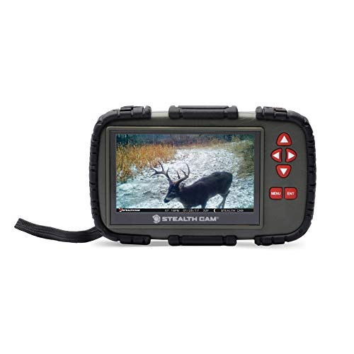 "Stealth Cam 4.3"" Color LCD Touch Screen SD Card Reader/Viewer"