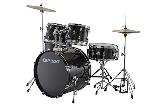 Ludwig Accent Series Drive Drum Set - Black