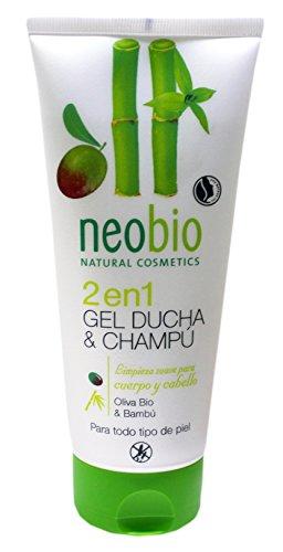 Neobio 2in1Olive und Bambus Duschgel und Shampoo–200ml