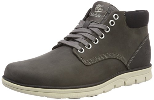 Timberland Bradstreet Chukka Leather, Stivali Uomo, Grigio (Dark Grey Full Grain), 40 EU