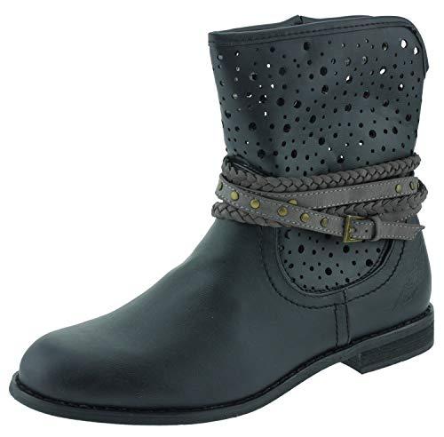 Arizona 681854 Ankle Boots Stiefeletten schwarz, Groesse:37.0