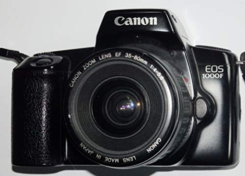 EOS 1000 F - SLR Kamera inklusive CANON kompatibel Objektiv AF ZOOM LENS EF 35-80 mm 1:4-5.6 - Technik geprüft - ok