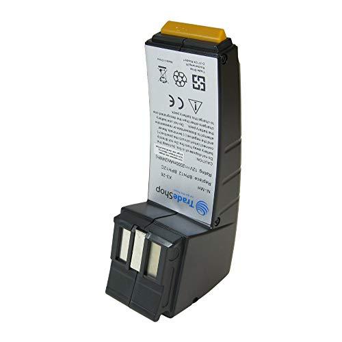 Ad alte prestazioni con batteria Ni-MH 12 V/2000 mAh per Festo Festool 480889 490592 489726 489825 490360 BP12C BPH12 BPH12C FS1224 487701 488438 489728 487512 BP CDD12 CDD12FX CE NC C45 - Plus C12DUO