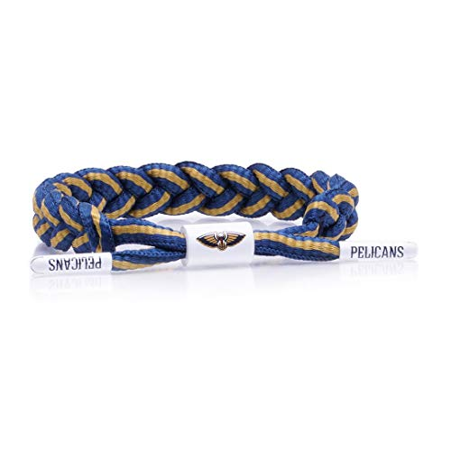 Rastaclat NBA New Orleans Pelicans Medium/Large Braided Bracelet