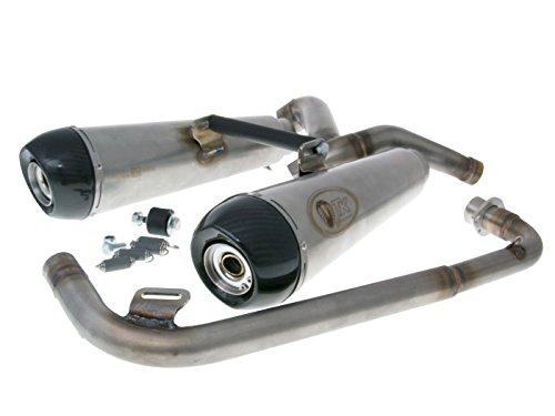 Auspuff - M4T129-H6 - Turbo Kit Double für Honda MSX 125 (Grom)