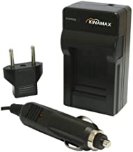 Kinamax Replacement Charger and Car Adapter for JVC Everio GZ-HD300, GZ-HD320, GZ-HM200, GZ-MG630, GZ-MG650, GZ-MG670, GZ-MG680 Batteries
