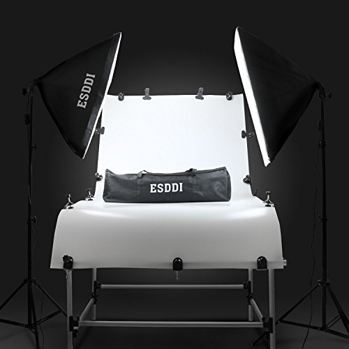 """ESDDI Softbox Photography Light, 20""""X28"""" Studio Lighting Equipment, Continuous Photography Lighting Kit for Portrait Video and Advertising Shooting"""
