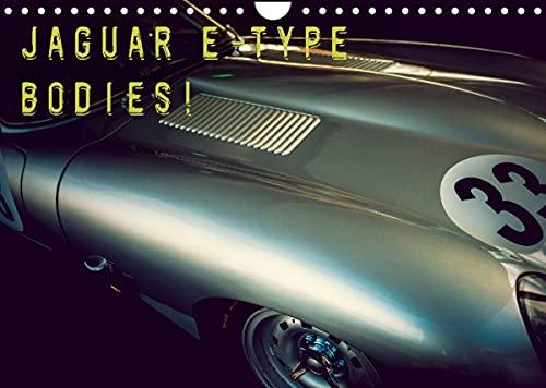 Jaguar E-Type - Bodies (Wandkalender 2022 DIN A4 quer)