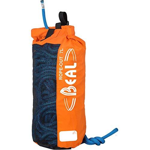 Beal Rope Out 7L Orange, Kletterrucksack und Seilsack, Größe 7l - Farbe Orange