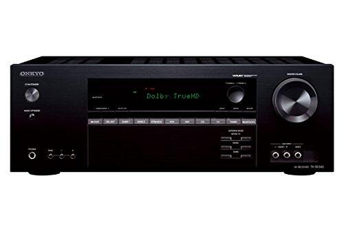 Onkyo TX-SR343 (B) AV-Receiver (5.1-Kanal, 100 Watt, 4X HDMI, 4K Ultra HD, HDCP 2.2, Bluetooth, Audiostreaming) schwarz