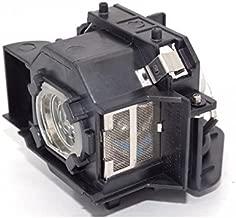 EMP-83 EMP-83HE EB-410W EMP-280 EMP-822H Viking Lamps ELPLP42 // V13H010L42 for EPSON EMP-822 EMP-400 EB-410WE EMP-83C EMP-83H EMP-400W EMP-400WE PowerLite 83+ EX90 ... EMP-X56 EMP-410W