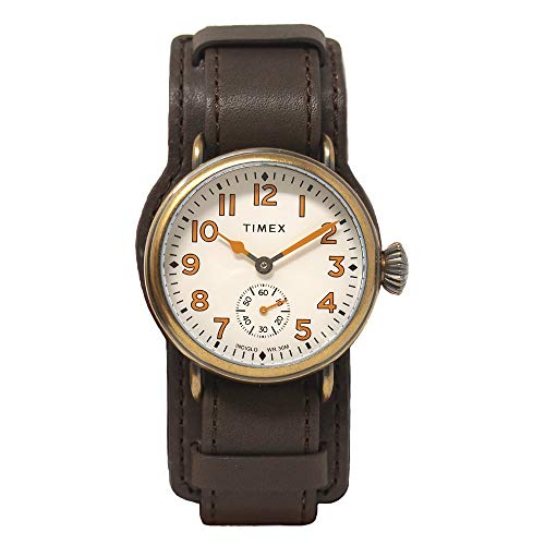 Timex Welton 38 mm Leather Strap Watch TW2R87900