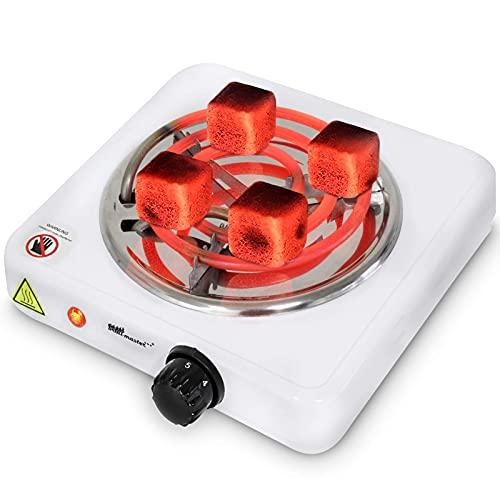 broil-master® Shisha Kohleanzünder - Elektrisch, 1000W Leistung, Farbwahl, Hitze regulierbar -...