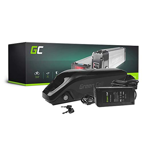 GC Batteria E-BIKE 36V 11.6Ah Bicicletta Elettrica Down Tube con Celle Panasonic Li-Ion e Caricabatterie Chrispa Téo Fat Bike HNF
