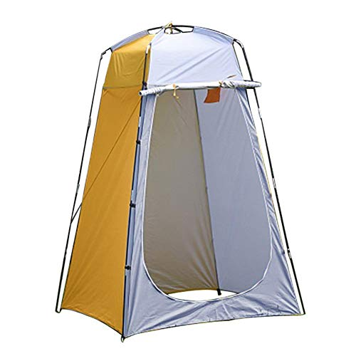 Linier Camping Toilet Tent Pop Up Shower Privacy Tent For Outdoor Changing Dressing Fishing Bathing Storage Room Tents, Portable With Carrying Bag(120x120x190CM)