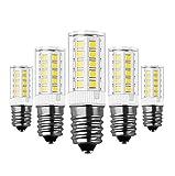 Bombillas E14 LED, RANBOO, 5W Equivalente a Bombillas Halógena de 40W Blanco Frío 6000 K 330lm AC 220-240V, 360 ° Ángulo de Haz, No Regulable, 5 Unidades