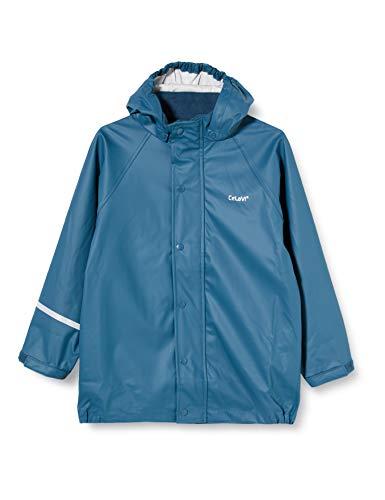 CeLaVi Jungen Zweiteiliger Regenanzug in vielen Farben Regenjacke, Blau, 110