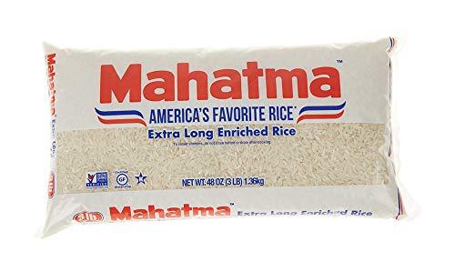 Mahatma Enriched Rice, Extra Long Grain, 48 oz