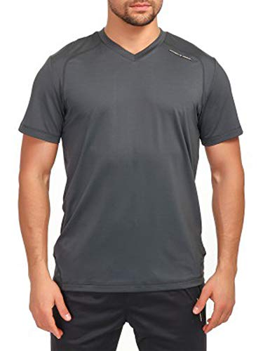 adidas Porsche Design M Gym Tee - Camiseta para hombre (talla S), color gris