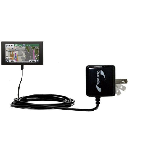 Gomadic High Output Home Wall AC Charger Designed for The Garmin nuvi 3597 LMTHD with Power Sleep Technology - Intelligently Designed with Gomadic TipExchange