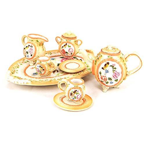 Servizio da Tè Decorativa in Porcellana